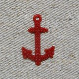 Vintage ANCHOR 【RED】