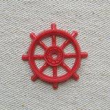 Vintage SHIPS WHEEL【RED】