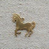BRASS Flat HORSE