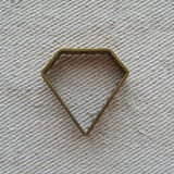 """Brass frame """"Diamond"""""""