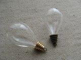 "Glass Bottle charm""Chandelier bulb """