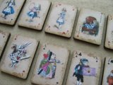 Print Wooden Charm Alice-Playing Cards