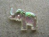 Vintage Elephant AB Beads