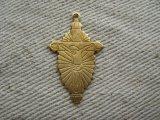 Brass 2D Jesus+Cross