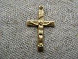 BRASS Jesus+Cross 2個いり