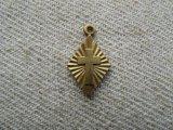 BRASS Cross in Diamond