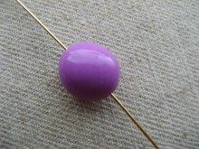 他の写真2: Plastic Simple Beans Beads 2個いり