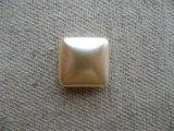 Glass Square Pearl Cabochon