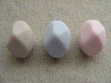 Vintage Mat Faux Stone Beads