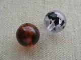 Vintage Plastic Spot Ball Beads
