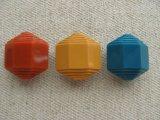 Vintage Edge Step Hexagon Beads