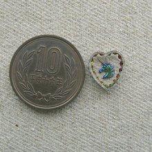 他の写真1: Unicorn Heart Glass Intaglio Pendant