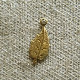 BRASS SMALL LEAF 2個入り