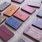 Print Wooden Charm Dance Ticket