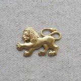 Brass Crest Lion