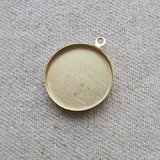 Brass Round Setting+Frame