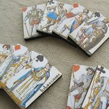 Print Wooden Charm Playing Cards