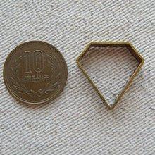 """他の写真1: Brass frame """"Diamond"""""""