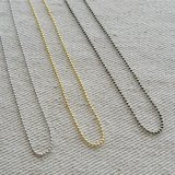 NECKLACE CHAIN【BALL】