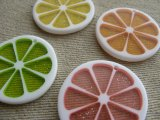 Citrus Slices charm