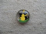 """Nursery Rhymes"" Intaglio Cabochon ""Cat and Fiddle """