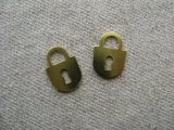 Brass Plate Key-Lock 3個入り
