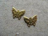 Brass Plate Butterfly 4個入り