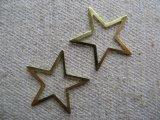 Brass Plate STAR 2個入り