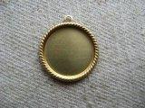 Brass Round Rope Edge 15mm