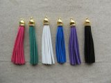Plastic+Leather Tassel