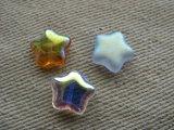 Glass Star 12mm Beads 2個入り