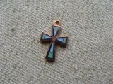 Copper+Enamel Cross