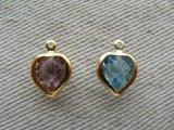 Vintage Swarovski Heart Charm