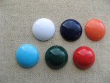 Plastic Simple Cabochon【Matte】 25mm