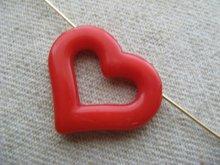 他の写真2: Vintage Heart W/Hole Beads