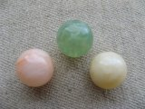 Vintage Mixture Marble Ball Beads 14mm