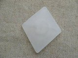 Vintage Lucite Large Frost Dia Cabochon