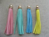 Plastic+Leather Tassel 【Pastel】