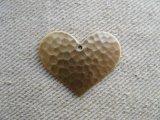 BRASS PLATE HEART