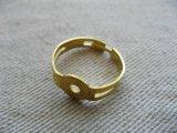 Brass Ring Setting