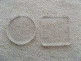 Laser cut acrylic Circle/Square