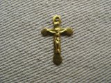 Vintage Brass Lightweight Cross