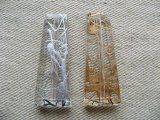 Acrylic Drawing Long Trapezoid Beads 2個入り
