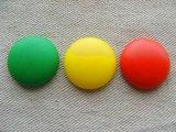 Vintage Plastic Matte Round Cabochon 24mm