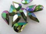 Vintage Glass Stone【Emerald AB】TD/13x8mm