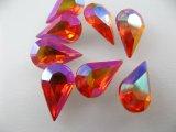 Vintage Glass Stone【Hyacinth AB】TD/13x8mm