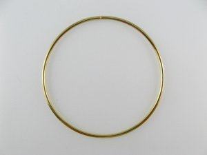 画像1: Goldplated Big Hoop