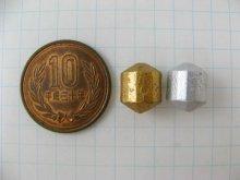 他の写真1: Vintage Matte Metal Barrel Beads