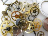 Clock of pieces 3g