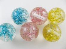 他の写真3: Vintage Plastic Color Tinsel Ball Beads
